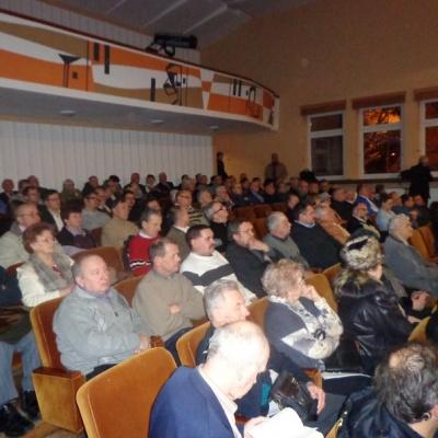 09.02.2013 r. L. Miller w Stalowej Woli